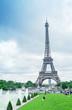 Paris, The Eiffel Tower and Trocadero Gardens