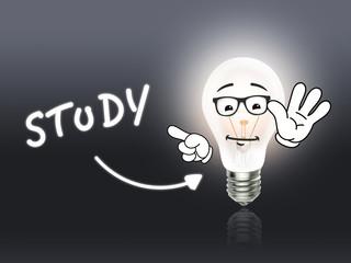 Study Bulb Lamp Energy Light gray