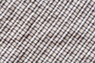 Checkerboard pattern cloth texture