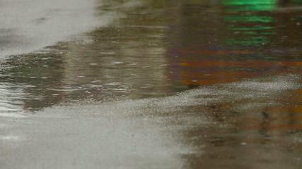 Rain reflection