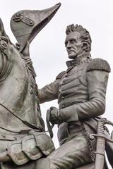Andrew Jackson Statue Lafayette Park Washington DC