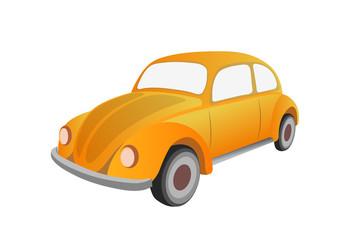 Classic car , vector