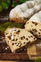 Festive Christmas German Stollen Bread