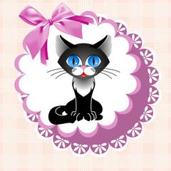 doily cat