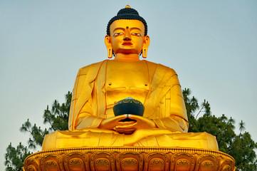 Golden Statue of Buddha