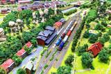 Toy railway layout - 74314675