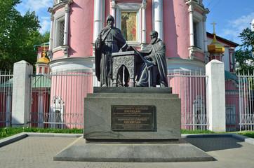 Памятник Лихудам. Москва