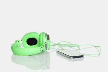 Mobile phone and headset