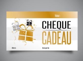 Chèque cadeau