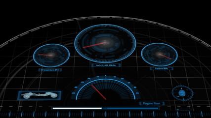 Car display interface