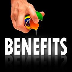 brazil benefits