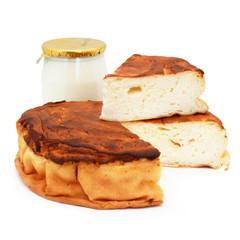 Gâteau du Poitou - Cheesecake