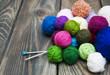 Color woolen clews - 74317071