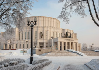 building of  Belarusian  Academic Bolshoi Opera and Ballet