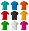 Colorful T-shirts /with clipping path - 74318291