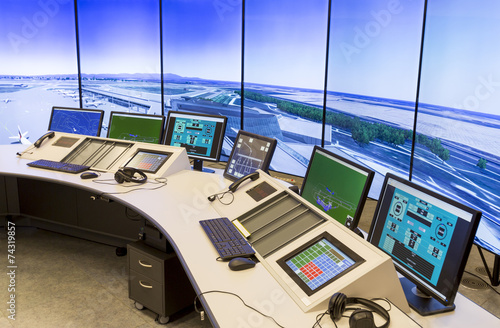 canvas print picture Air Traffic Services Authority