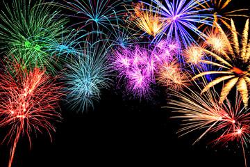 Feuerwerk an Sylvester