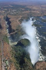 Victoria Falls form Above