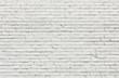 canvas print picture - White brick wall