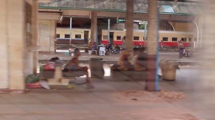 train travel among poor of India