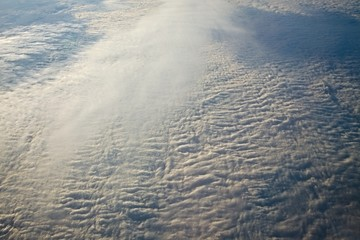 Clouds from above