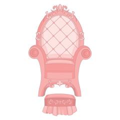 Royal Princess Throne