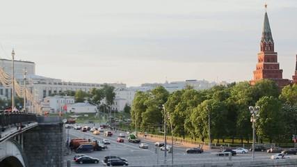 Moscow kremlin embankment _02