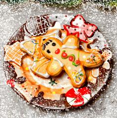 Christmas  ginderbreads