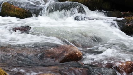 stream of clean water