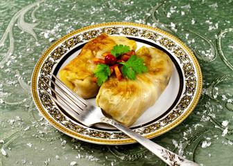 Celebratory food, Stuffed cabbage