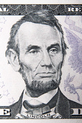 abraham lincoln dollar portrait