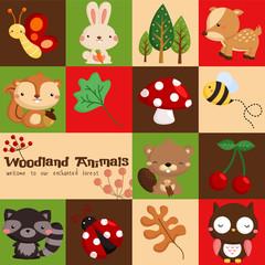 Square woodland