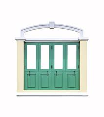 Classic window isolated