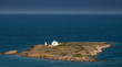 canvas print picture - Einsame Insel
