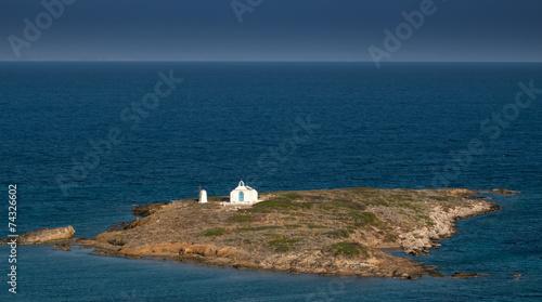 canvas print picture Einsame Insel