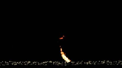 Lichteffekte  mit Flamme