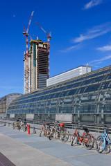 Porta Susa and San Paolo skyscraper construction