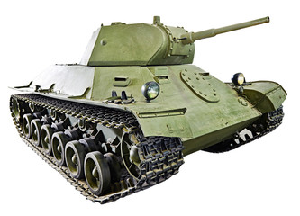 Soviet light infantry tank T-126 SP  isolated