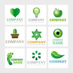 Vector Logos - Ecology