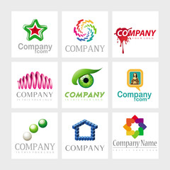 Vector logos - Arts