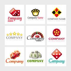 Vector logos - Casino