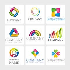 Vector logos - Abstract