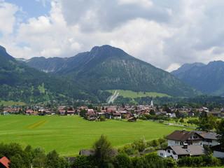 Oberstdorf schwäbischer Landkreis Oberallgäu