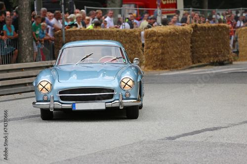 Foto op Aluminium Vintage cars Oldtimer-Rennen