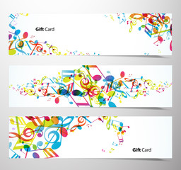 Set of website banners.