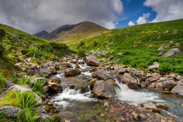Waterfall in Countryside