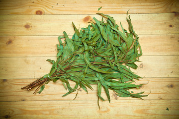willow broom for baths and saunas