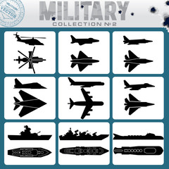 Military Planes and Warships
