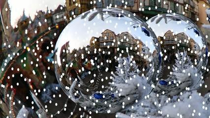 Отражение в шарах. 2015