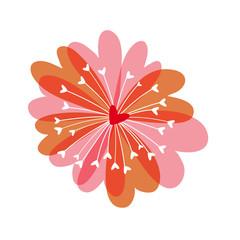 Fleur cœur